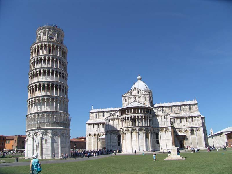 dovolená 2016 Itálie, Pisa