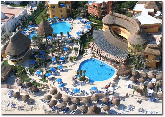 dovolená v mexiku 2016, Hotel Reef