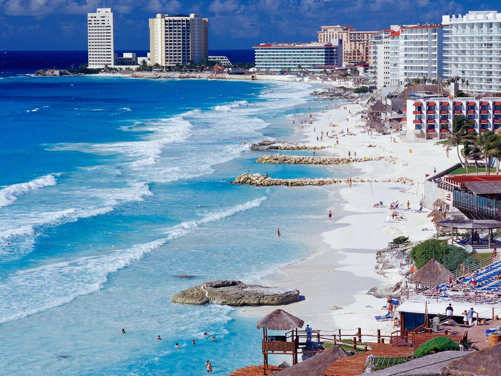 dovolená v mexiku 2016, Cancun