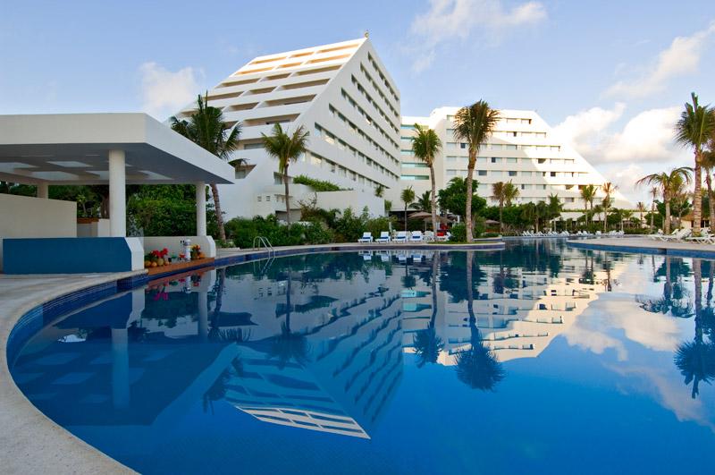 dovolená v mexiku 2016, Hotel oasis palm beach