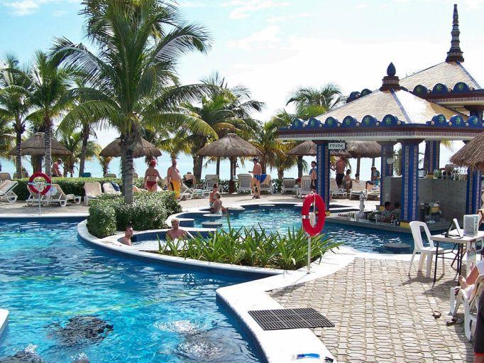 dovolená 2016 ,  Hotel riu playacar