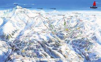 La-plagne-ski-area
