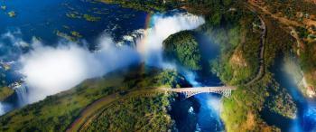 Zimbabwe a Viktoriiny vodopády - Viktoriiny  vodopády