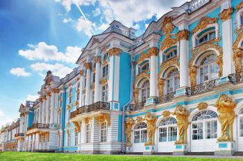 Puškin - hlavní rezidence carské rodiny - Puškin