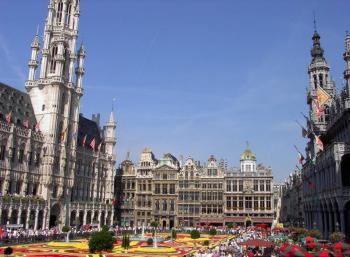 Brusel - Grote Markt