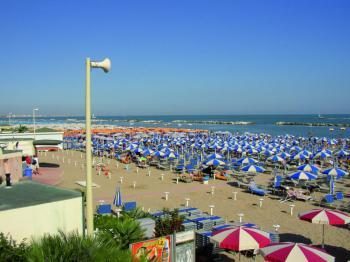 Cattolica - pláž