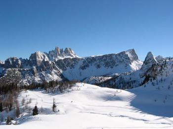 Lyžování 2016 v Itálii