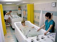 Perličková koupel, Hotel Pohoda