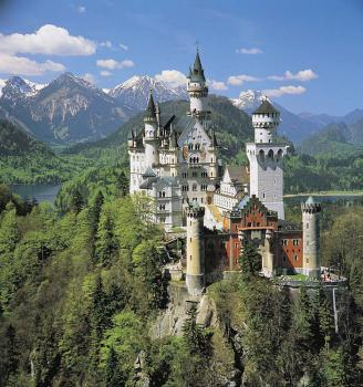 Poznávací zájezdy do Německa - Neuschwanstein
