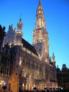 Brusel - hlavní město Belgie - Brusel