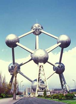 Brusel - Atomium