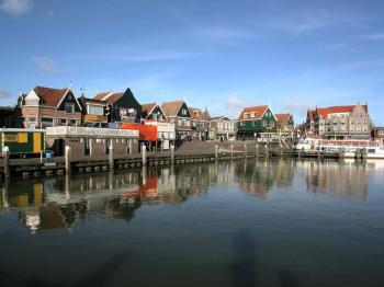 Volendam - pravá holandská atmosféra - Volendam