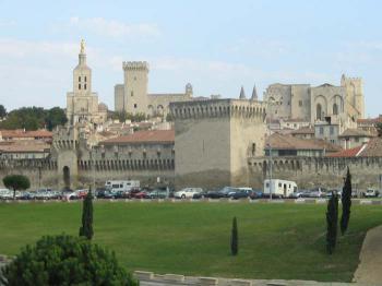 Avignon - bývalé papežské město - Avignon