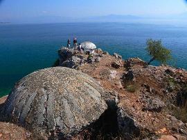 Albánie - bunkry
