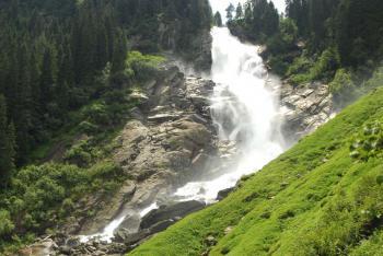 Krimmelské vodopády - nejvyšší vodopády Evropy - Krimmelské vodopády