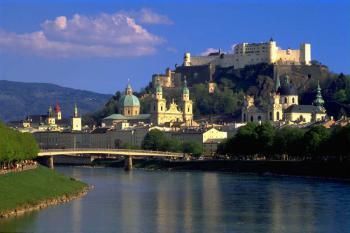 Salzburg - město s krásným historickým centrem - Salzburg