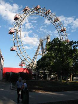Vídeň, obrovské kolo v Prátru