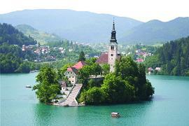 Slovinsko - Bled