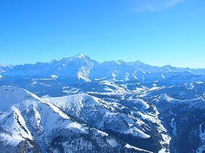 Mt. Blanc - nejvyšší hora Evropy - Mt. Blanc