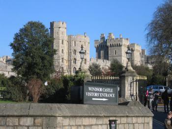 Windsor - malé, ale výnamné město Anglie - Windsor Castle