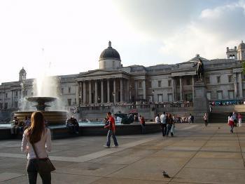 Londýn - Trafalgarské náměstí - Trafalgarské náměstí