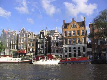 Amsterdam - hlavní město Nizozemska - Amsterdam