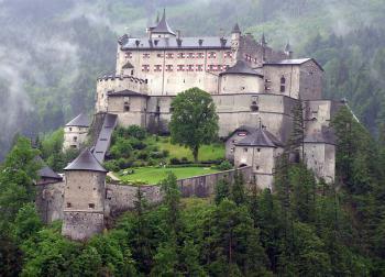 hrad Hohenwerfen