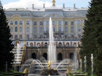 Petrodvorec - ruské Versailles - Petrodvorec