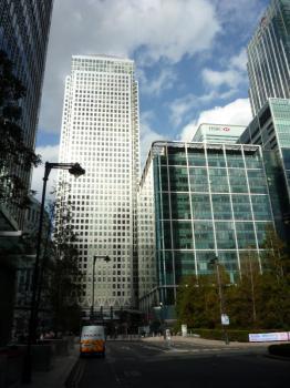 Londýn - Canary Wharf