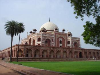 Humájúnova hrobka - Dillí
