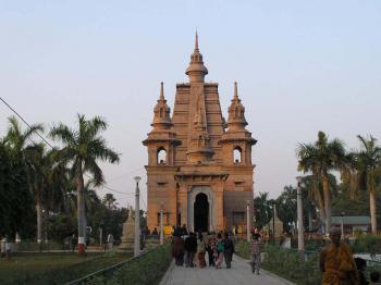 Sarnáth - místo prvního kázání Buddhy - Sarnáth