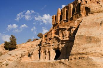 Jordánsko - Skalní město Petra