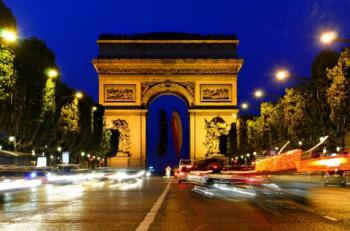 Francie - paříž - vítězný oblouk
