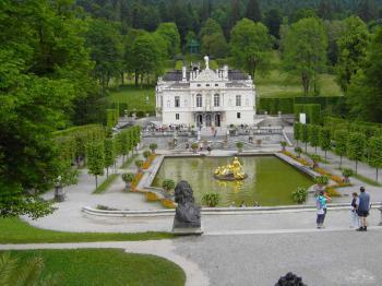 zámek Linderhof - zámek Linderhof