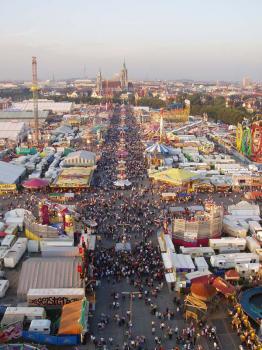 Oktoberfest - největší pivní festival světa - Oktoberfest