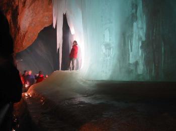 jeskyně Eisriesenwelt