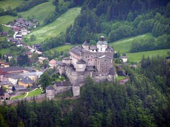 hrad Hohenwerfen - hrad Hohenwerfen