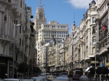 Madrid - hlavní město Španělska - Madrid