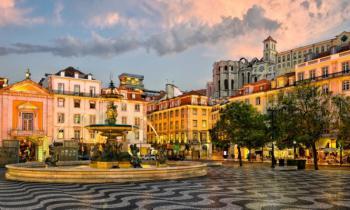 Lisabon - hlavní město Portugalska - Lisabon