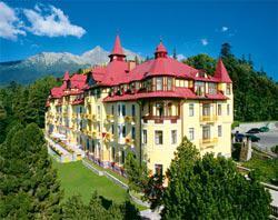 Tatranský Lomnica - ubytování na Slovensku
