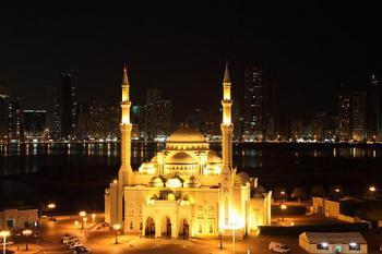 Mešita_v_Sharjah