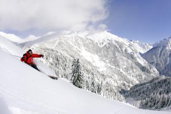 Lyžování ve Francii - alpy-zima