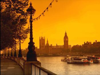 Londýn, parlament