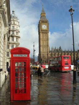 Londýn - Big Ben Londýn