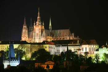 Prague - Karlovy Vary - Prgue - night