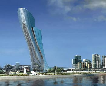 Formule 1, Capital Gate, Abu Dhabi