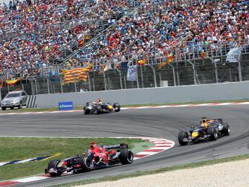 Formule 1, Katal�nsko, �pan�lsko