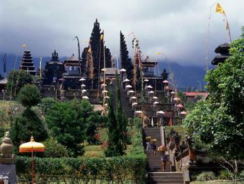 Bali, chrám Besakih