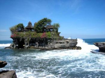 chrám Tanah LotBali