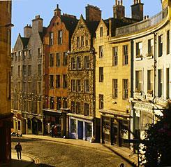 Edinburgh - královská míle